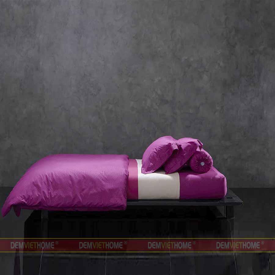 Bộ Chăn Ga Gối Lotus Culture Nordic Lilac Rose LI-C-N01