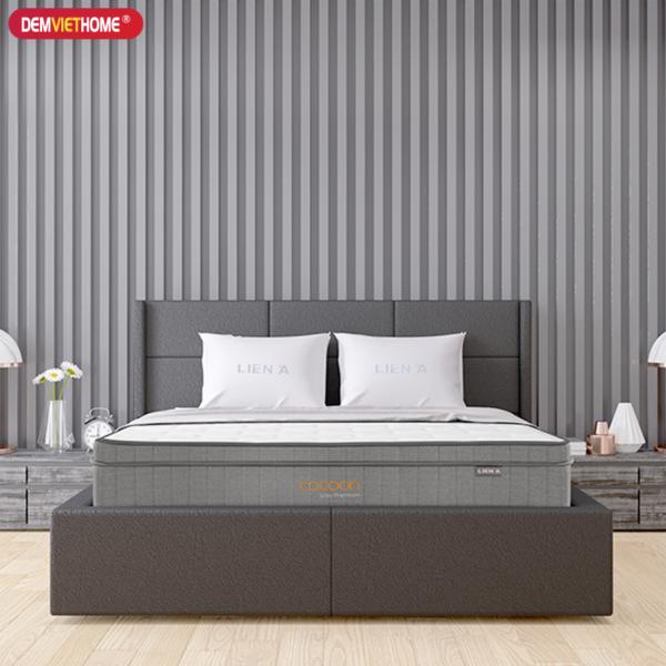 Đệm Lò Xo Túi Liên ÁCoCoon Grey Premium