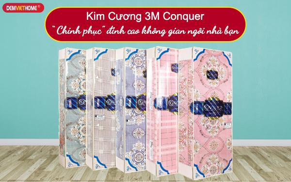 Đệm bông ép Kim Cương 3M Conquer