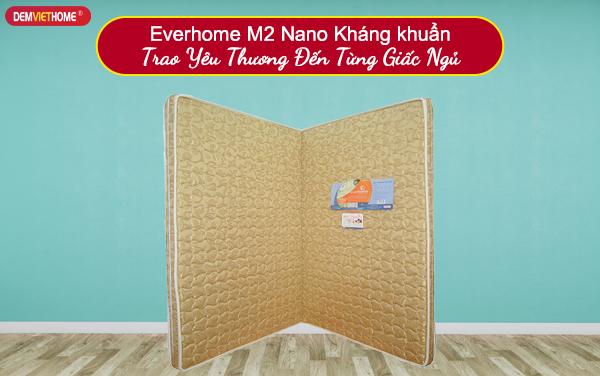 Đệm bông ép Everhome M2 Nano Kháng khuẩn