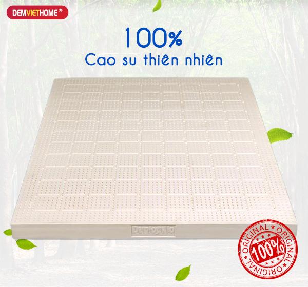 Đệm cao su thiên nhiên 100%