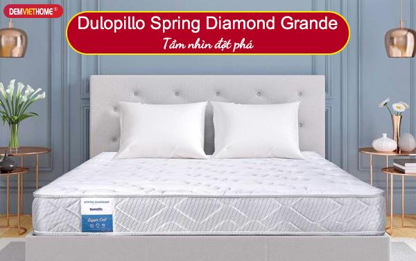 Đệm lò xo Dunlopillo Spring Diamond Grande