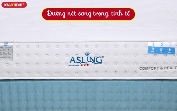 Đệm lò xo Kim Cương Asling 3 sao giá rẻ