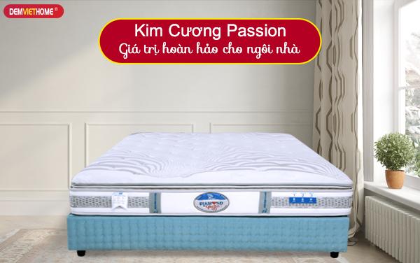 Đệm lò xo Kim Cương Passion