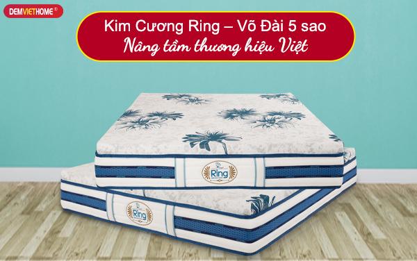 Đệm lò xo Kim Cương Ring – Võ Đài 5 sao