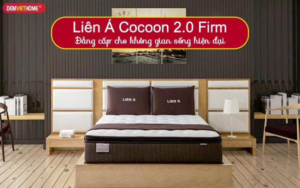Đệm lò xo Liên Á Cocoon 2.0 Firm