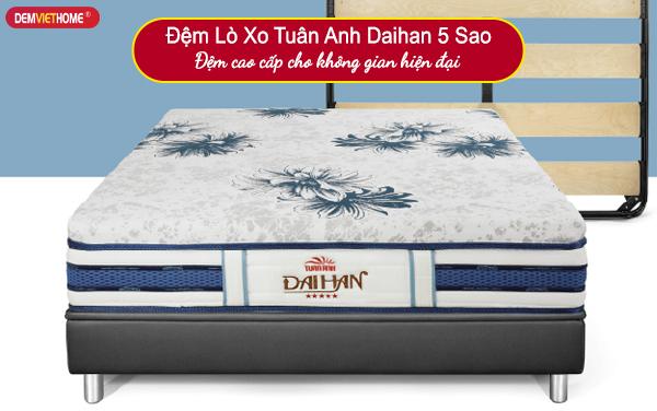Đệm Lò Xo Tuấn Anh Daihan 5 Sao