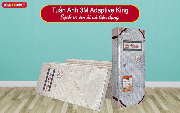 Đệm Bông Ép Tuấn Anh 3M Adaptive King