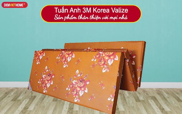 Đệm bông ép Tuấn Anh 3M Korea Valize